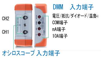 GDS-200 縦表示とタッチ操作